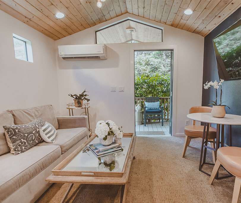 One Bedroom Suite Bungalow Calamigos Guest Ranch And Beach